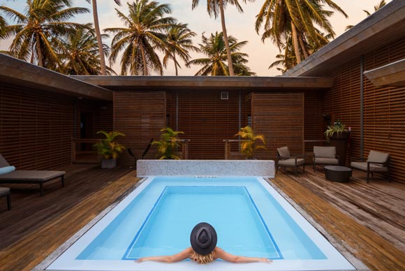 Deep nature spa Sheraton Deva New Caledonia